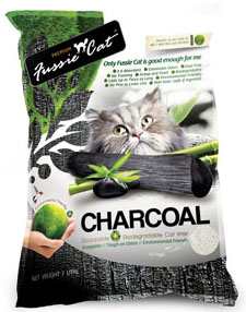 fussie cat charcoal litter